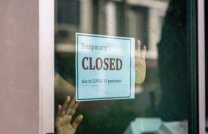closed shop notice